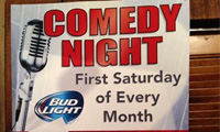 Comedy Club at the Warehouse Steak n Stein in Roscoe Village